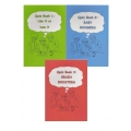 Quiz Book Series (set of 3 quiz books – Quiz Book 1, Quiz Book 2 & Quiz Book 3)